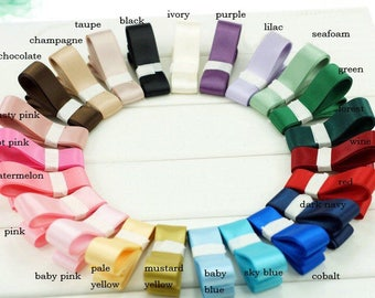 Cheap 23 colors double face 16mm ribbon, high quality ribbon, invitations DIY ribbon, hair accessories, bow knot DIY, wedding donation