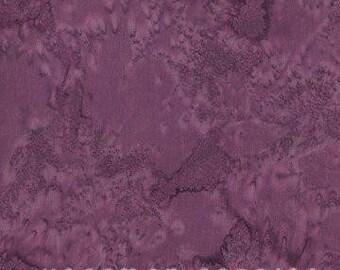 Hoffman Fabrics Watercolors Wine Purple 1895-50-Wine Bali Batik Fabric