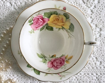 Lovely Heathcote Tea Cup & Saucer