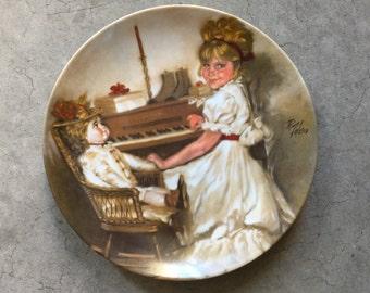 Cora's Recital Plate Richard Zolan