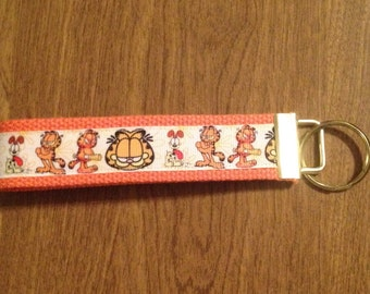 Garfield Odie Wristlet Key Chain Zipper Pull