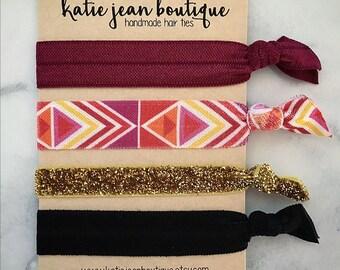 Elastic Hair Ties - Pretty Rebel Collection