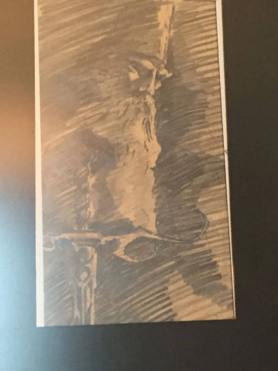 Wall Art Design Etsy Coupon Code : Free shipping coupon on s vintage pencil sketch