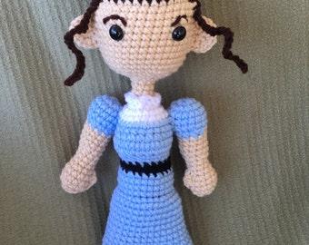 Crochet Jane Austen Doll
