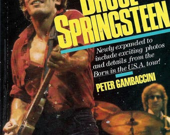 ISBN 0711906963 , Bruce Springsteen (Paperback) by Peter Gambaccini Revised Updated Edition 1985