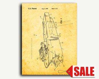 Patent Art - Swath Cargo Ship Patent Wall Art Print