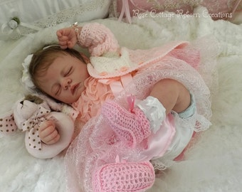 "MEG custom reborn doll 20"" ~ AC Tummy Plate ~ Free US Ground Shipping"