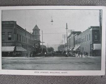 RPPC - 28th Street Billings Montana - Postcard