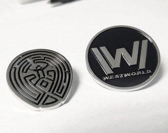 Westworld Pin Set