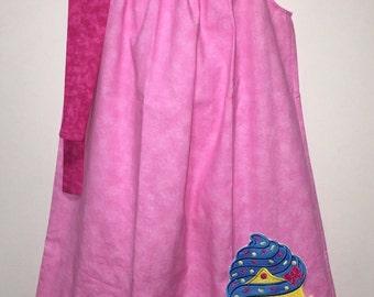 Shopkin Shopkins Cupcake Queen Girl Pillowcase Pillow Case Girl Boutique Summer Sun Dress! Shoppies Shopper Toddler Birthday