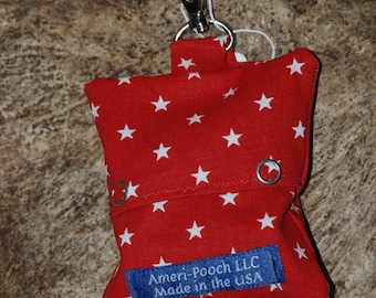 Dog Waste Bags, Poop Bag Holder, Dog Accessories, Waste Bag Dispenser, made in America, Dog Supplies, Accessory Bags