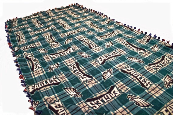 Philadelphia Eagles fleece blanket, Eagles no sew throw blanket, Philadelphia Eagles Blanket, Eagles Fleece, NFL stadium blanket, sports