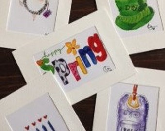 Little Blessings Card Pack for March