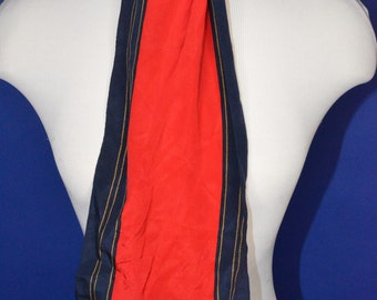 Vintage Estate Ginnie Johansen Inc Made in Japan Silk Scarf