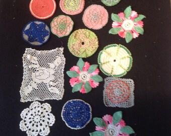 Crochet Vintage pieces