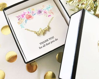 Mom Gold Necklace