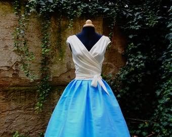 OCEANNE  WHITE crossover wrapped blouse,sleeveless blouse