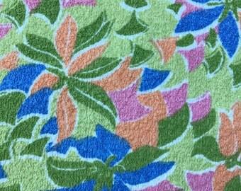 Amazing original retro towelling fabric