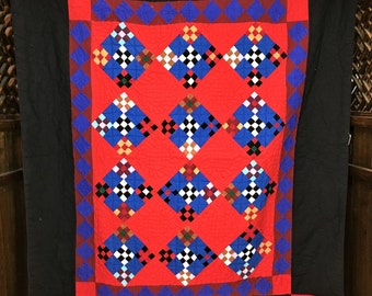 Amish style quilt