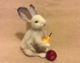Bunny Rabbit , Needle Felted
