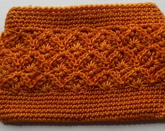 Cute Vintage Crochet Pouch/Coin Purse!