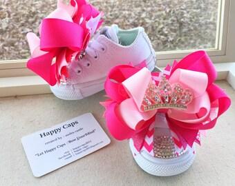 PINK PRINCESS Blinged Out Converse *Princess Shoes*