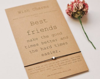 Best Friend Gift Bracelet, Gift For Friend Bracelet, Bestfriends Bracelet, Bestie Gift Bracelet, Dainty Bead Bracelet, True Friend Bracelet