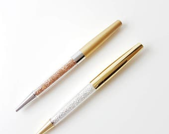 Crystal Gold Pens