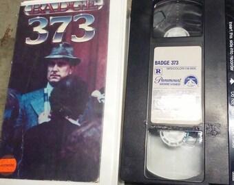 Badge 373 VHS 1973 robert duvall
