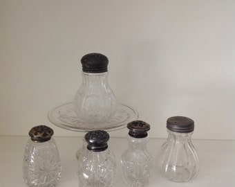 Cut glass shakers