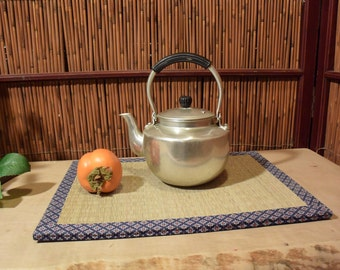 Vintage Japanese Metal Tea Kettle / Teapot