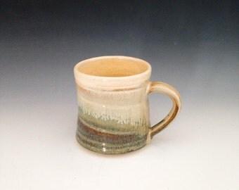 Mug--Autumn & Peach glazes
