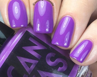 Pillow Talk by CANVAS lacquer - a pinkish purple creme