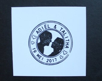 Stamp for wedding