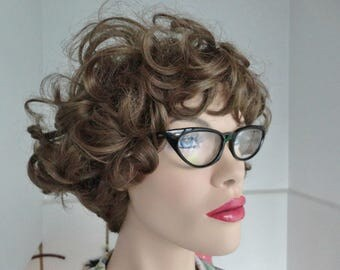Black 50s Vintage Cat Eye Glass Frames