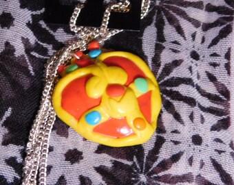 Sailor Moon Transformation Brooch Necklace