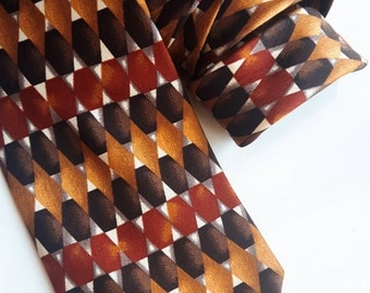 Vintage Ferro silk tie