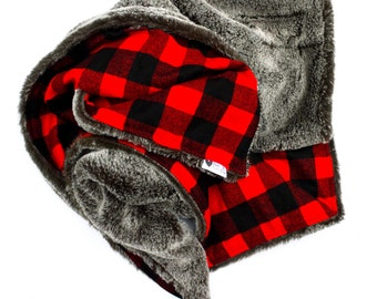 The Perfect Luxe Buffalo Plaid Blanket
