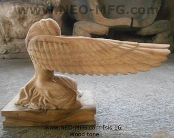 """History Egyptian Isis Sculpture Statue www.Neo-Mfg.com 16"""""""