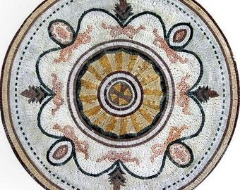 Flower Mosaic Rondure - Iva