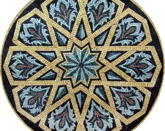 Geometric Mosaic Pattern - Durrah