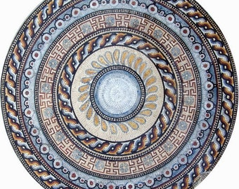 Greco-Roman Floral Medallion - Gael