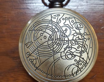 Doctor Who Fob Watch Pocket Watch