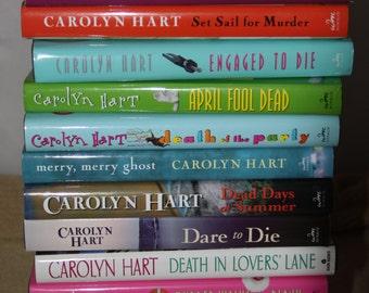 15 Carolyn Hart books / Free shipping