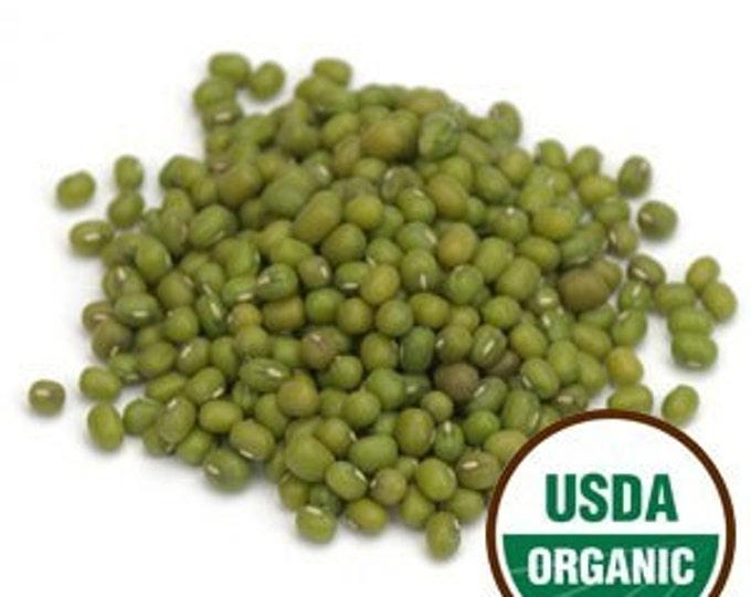 Mung Bean Sprouting Seeds - Certified Organic