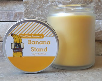 Banana Stand Scented Soy Candle- 8oz Arrested Development Candle