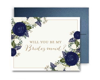 Will You Be My Bridesmaid Card, Bridesmaid Cards, Ask Bridesmaid, Bridesmaid Maid of Honor Gift, Matron of Honor, Flower Girl #CL306