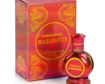 MASHKOOR by Al Haramain Attar, Itr, Perfume, Fragrance Oil 15 ML