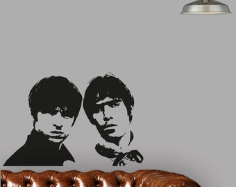 Oasis Supersonic Wall Art Vinyl Sticker Artwork Large Poster Removable A1 Design
