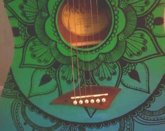Mandala Acoustic Guitar